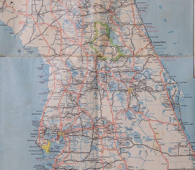 Los años 50 centrales de la Florida imagen de archivo