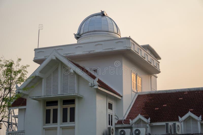 Los 60 años del primer observatorio y planetario en Tailandia imágenes de archivo libres de regalías
