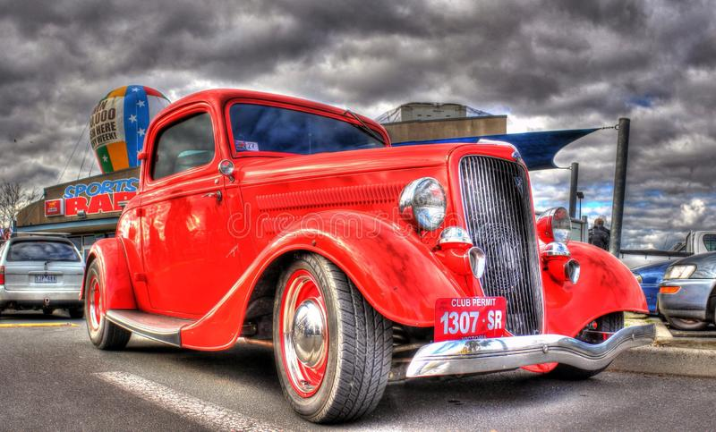 Los años 30 Ford americano del vintage fotografía de archivo