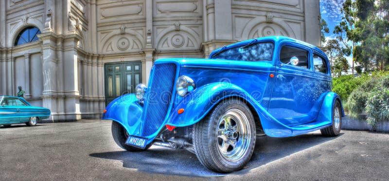 Los años 30 Ford Tudor del vintage imagen de archivo