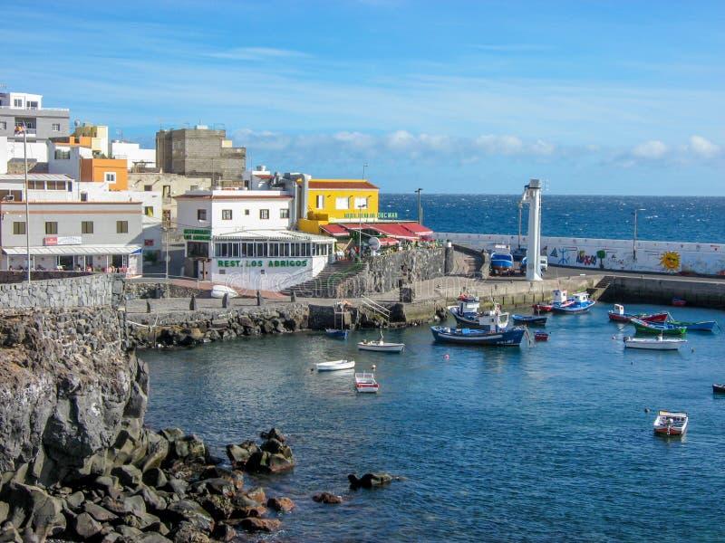Los Abrigos, Tenerife stock afbeeldingen