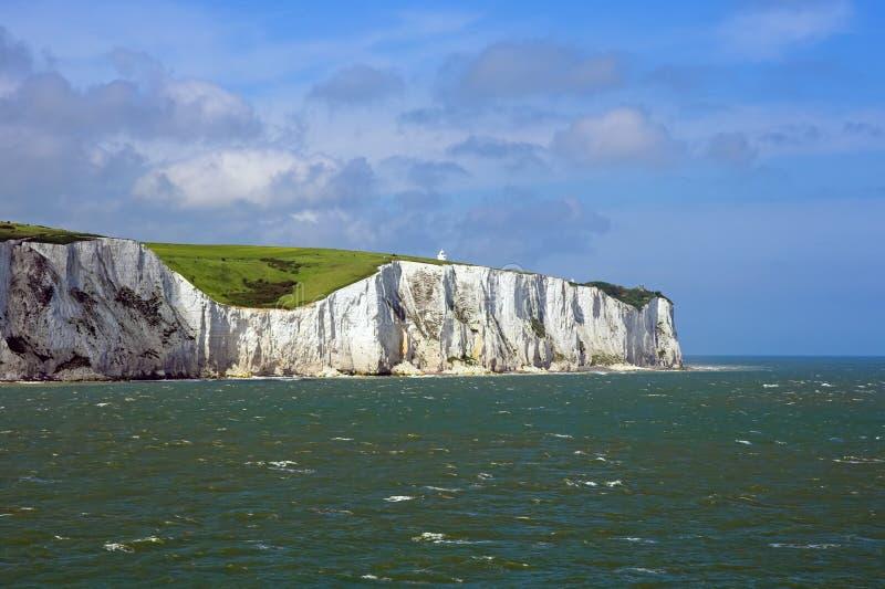 Los acantilados blancos de Dover fotografía de archivo libre de regalías