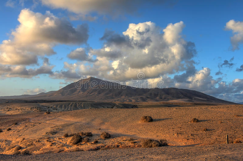 Los Ajaches, Lanzarote, Canary Islands, Spain royalty free stock photography