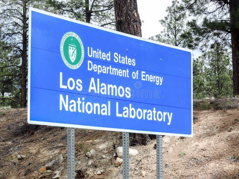 Los Alamos laboratorium fotografia royalty free
