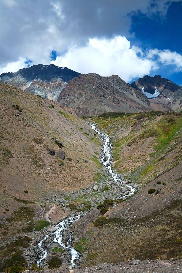 Los Andes imagen de archivo libre de regalías