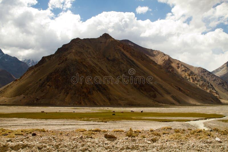 Los Andes, Cajon del Maipo fotos de archivo