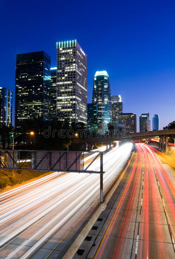 Los Angeles royaltyfria bilder