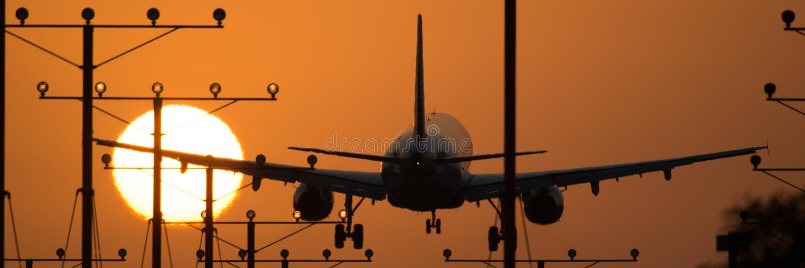 Los Angeles Airport stock images