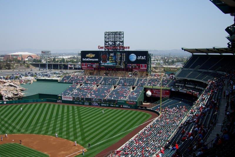Download Los Angeles Angel Stadium Of Anaheim Scoreboard Editorial Stock Image - Image: 11833794
