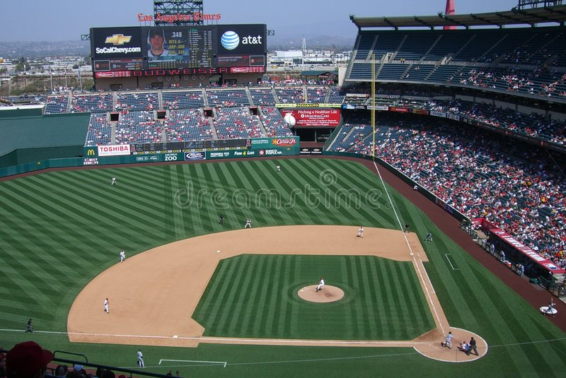 Download Los Angeles Angels Anaheim Stadium Editorial Photography - Image: 8833392