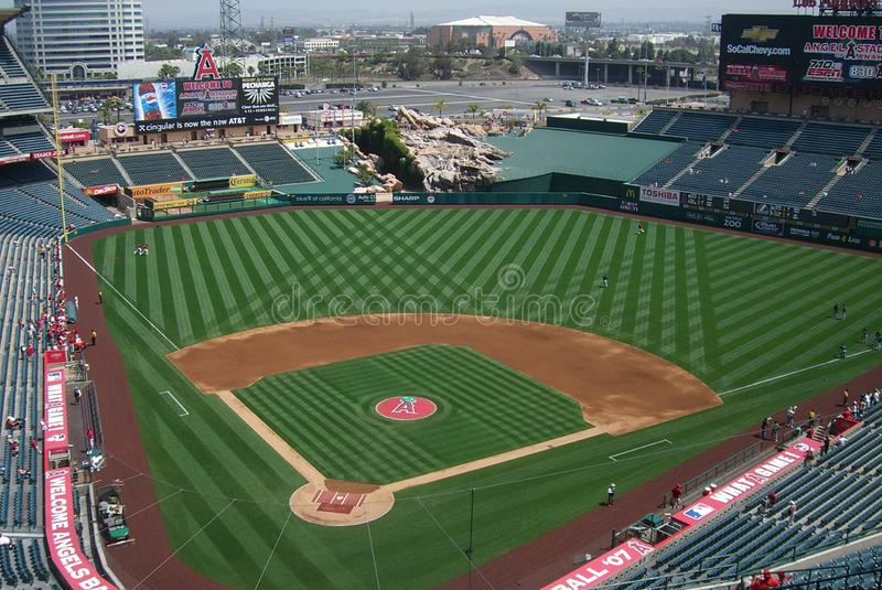 Download Los Angeles Angels Stadium Of Anaheim Editorial Stock Image - Image: 11753314
