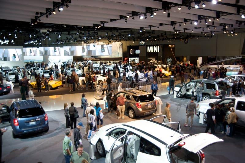 Los Angeles Auto Show stock photo