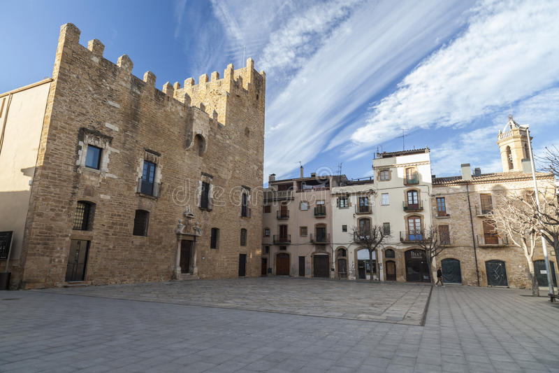 Los Angeles Bisbal Emporda, Catalonia, Hiszpania fotografia royalty free