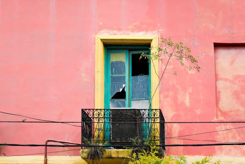 Los Angeles Boca, kolorowy sąsiedztwo, Buenos Aires argentyńczyk fotografia stock