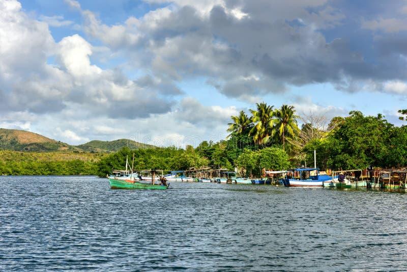 Los Angeles Boca, Kuba zdjęcie royalty free