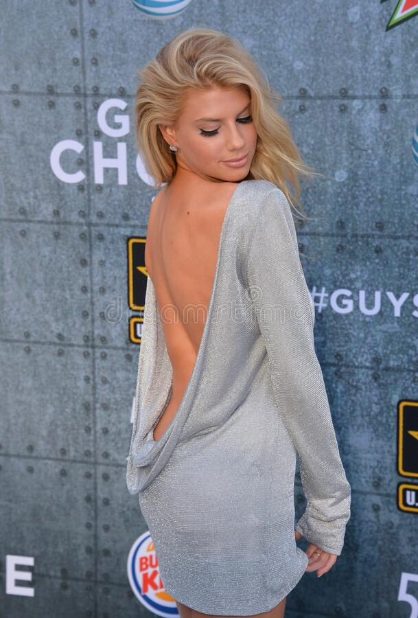 Charlotte McKinney. LOS ANGELES, CA - JUNE 7, 2015: Actress/model Charlotte McKinney at Spike TV\'s 2015 Guys Choice Awards at Sony Studios, Culver City royalty free stock image