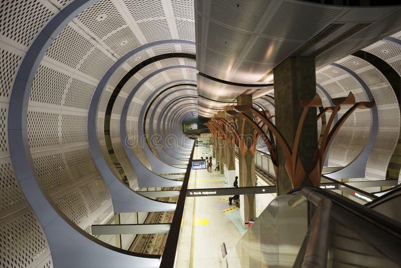 Los Angeles, CA metro fotografia de stock royalty free
