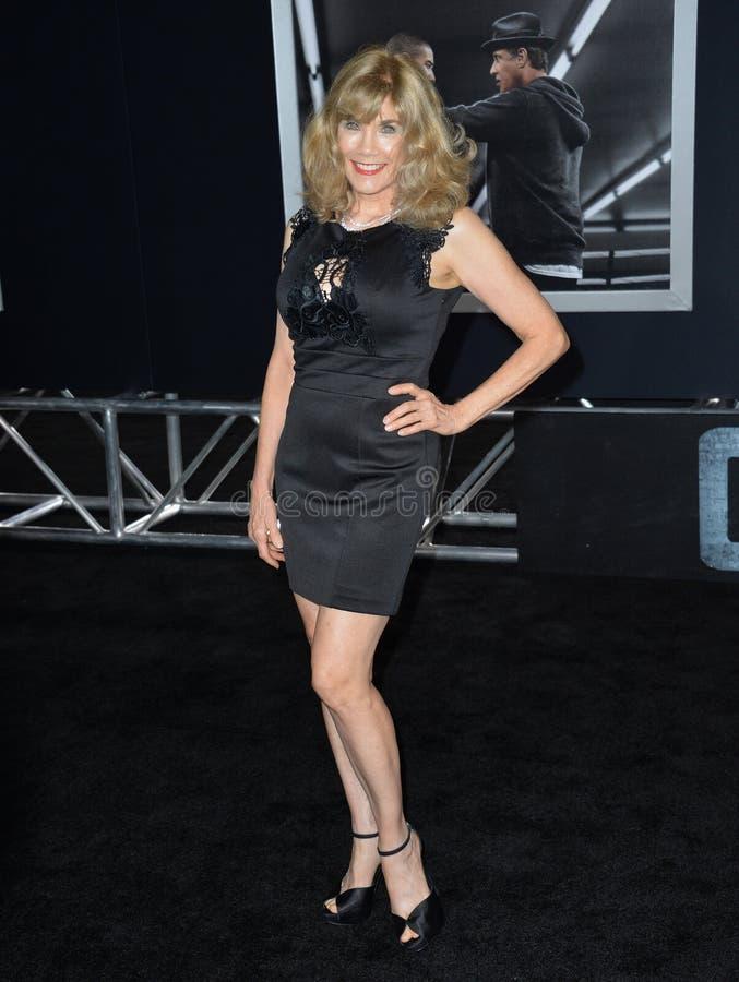Barbi Benton. LOS ANGELES, CA - NOVEMBER 19, 2015: Former model/actress/singer Barbi Benton at the premiere of \'Creed stock photography