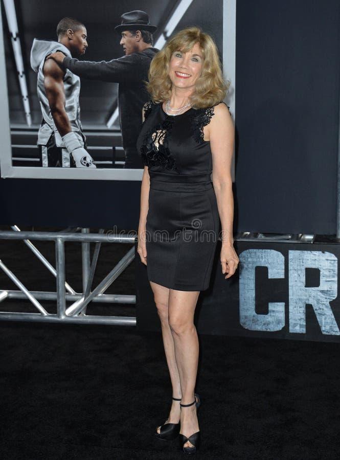 Barbi Benton. LOS ANGELES, CA - NOVEMBER 19, 2015: Former model/actress/singer Barbi Benton at the premiere of \'Creed royalty free stock photography