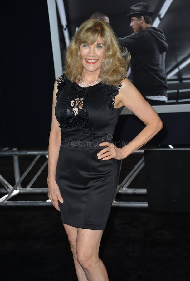 Barbi Benton. LOS ANGELES, CA - NOVEMBER 19, 2015: Former model/actress/singer Barbi Benton at the premiere of \'Creed royalty free stock photo