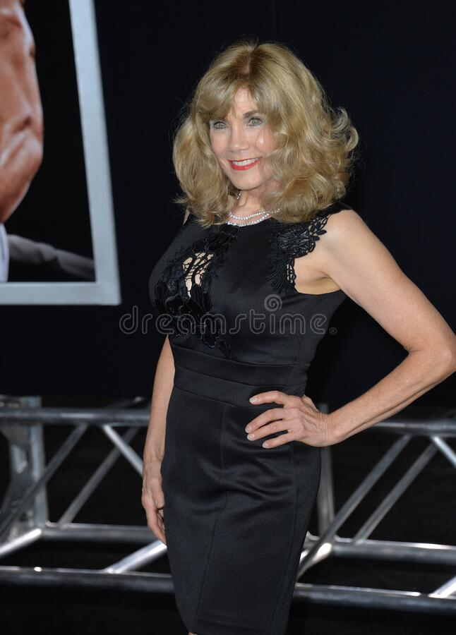 Barbi Benton. LOS ANGELES, CA - NOVEMBER 19, 2015: Former model/actress/singer Barbi Benton at the premiere of \'Creed stock images