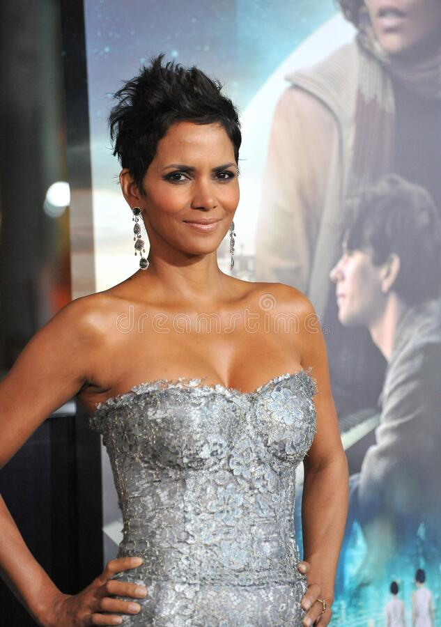 Halle Berry. LOS ANGELES, CA - October 24, 2012: Halle Berry at the Los Angeles premiere of her new movie \'Cloud Atlas\' at Grauman\'s Chinese Theatre stock images