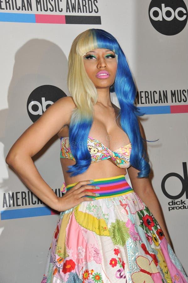 Nicki Minaj stock image