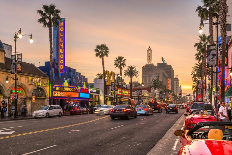 Hollywood, California, USA stock photo