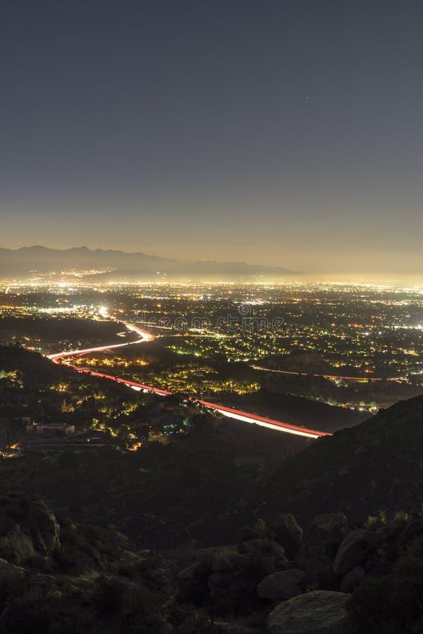 Free Los Angeles California San Fernando Valley Predawn Stock Image - 127488241