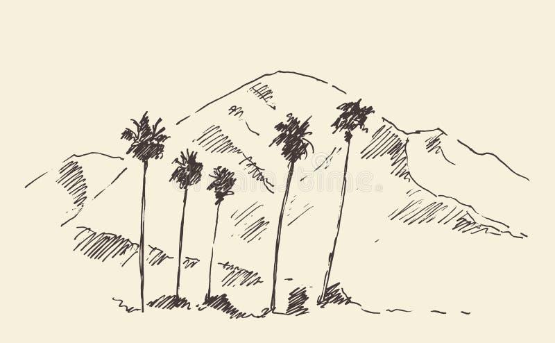 Los Angeles, California, Skyline Engraved Sketch. Los Angeles California skyline engraved style hand drawn vector illustration vector illustration