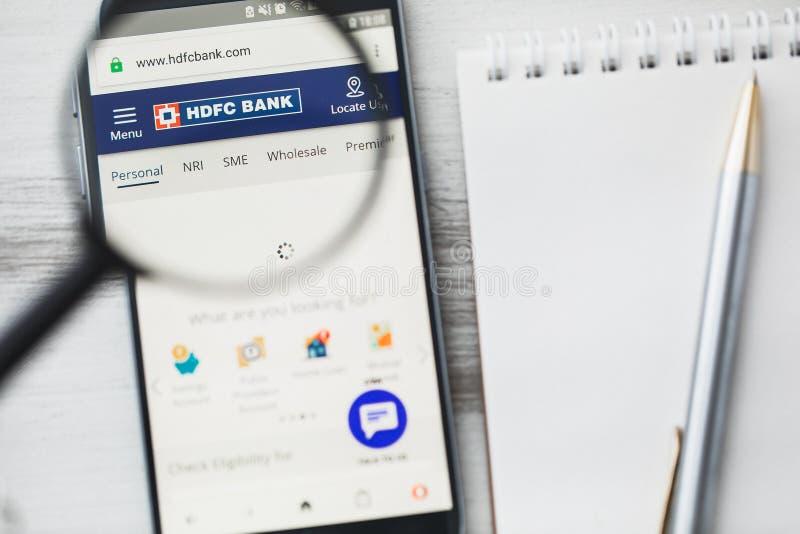 HDFC Bank logo editorial image  Image of hsbc, banking