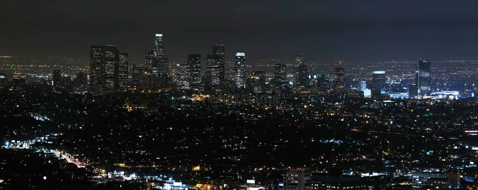 Download Los Angeles Cityscape stock photo. Image of urban, architecture - 14065226