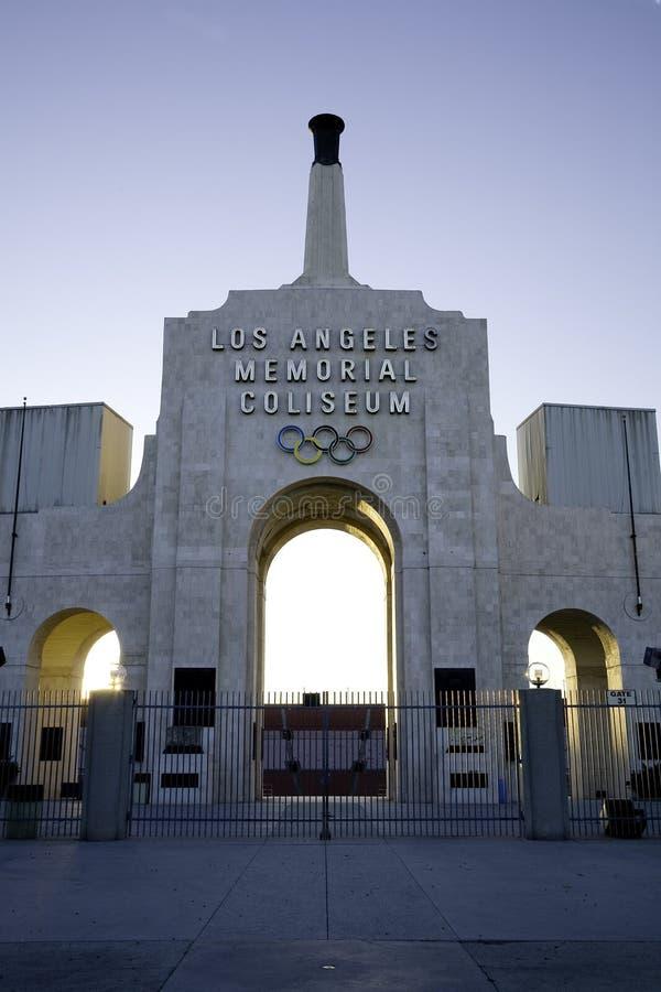 Los Angeles Coliseum 2 royalty-vrije stock foto