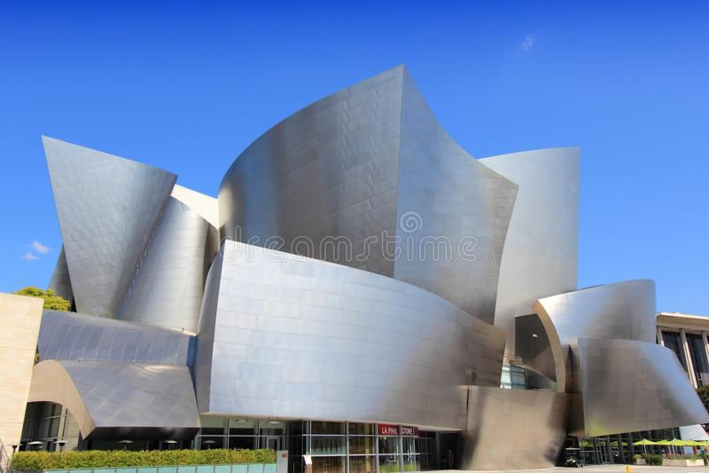 Los Angeles Concert Hall stock photo