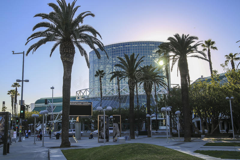 Los Angeles Convention Center South Hall royalty free stock image