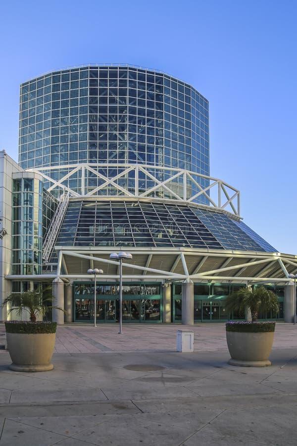 Los Angeles Convention Center West-Hall lizenzfreie stockfotografie