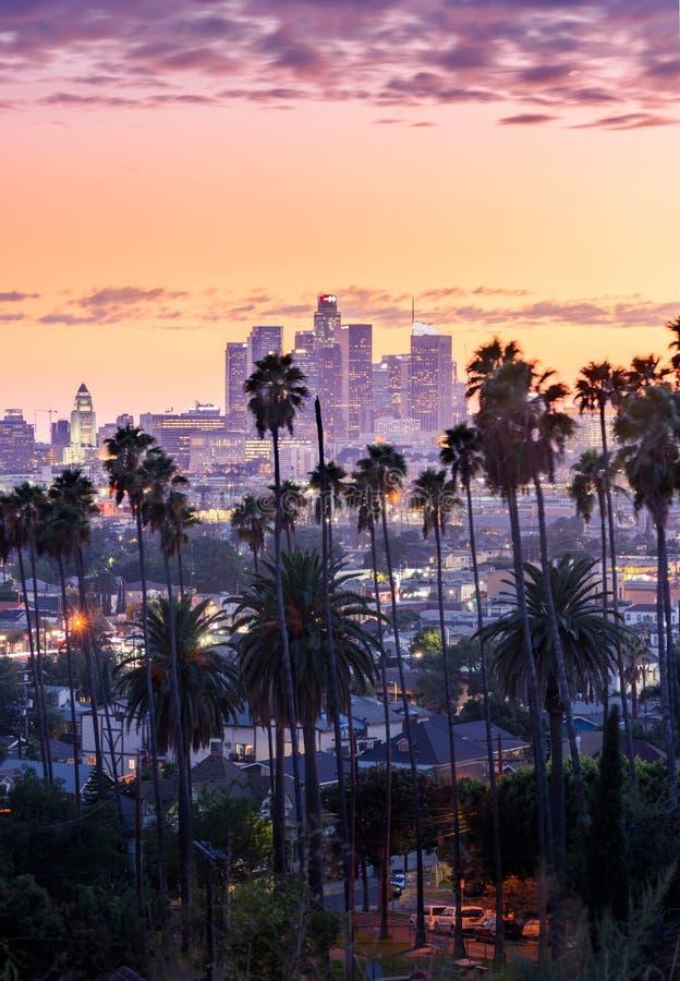 Los Angeles da baixa foto de stock