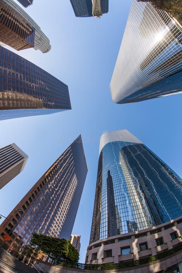 Los Angeles da baixa imagem de stock royalty free