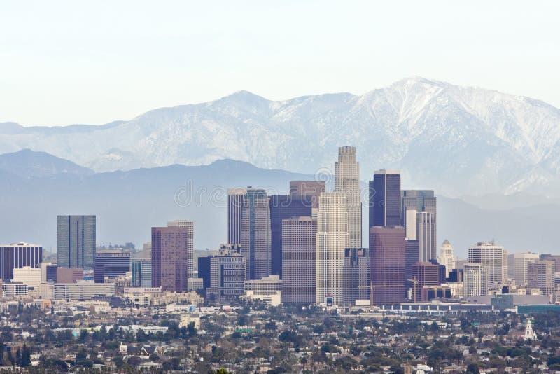 Los Angeles da baixa imagem de stock