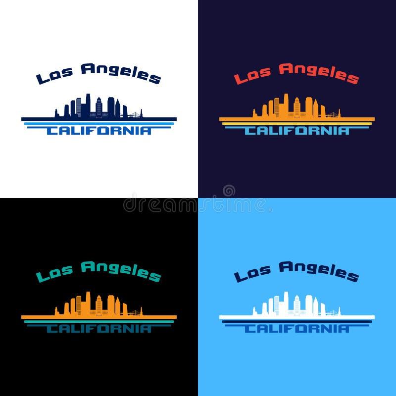 Los Angeles da baixa #41 ilustração stock