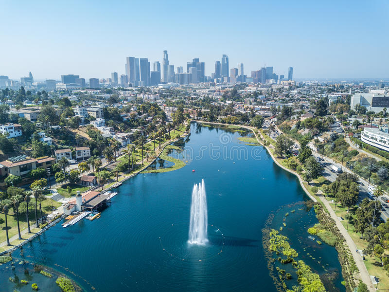 Los Angeles da baixa #41 foto de stock royalty free