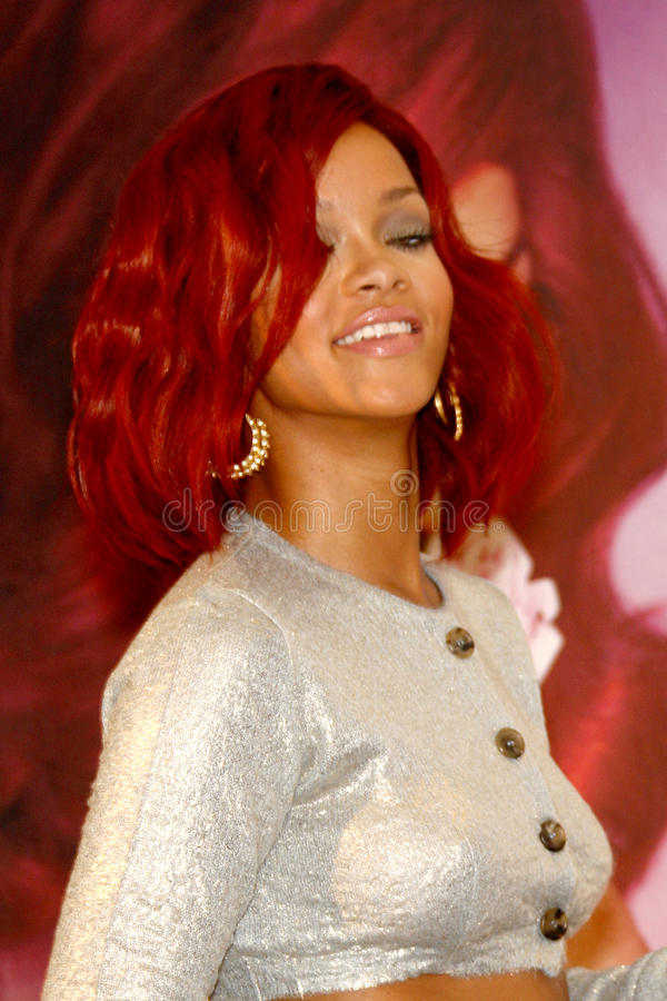 Rihanna imagem de stock