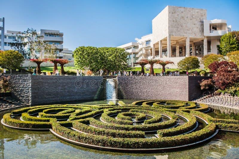 LOS ANGELES, DE V.S. - JUNI, 2015: De Centrale Tuin royalty-vrije stock fotografie