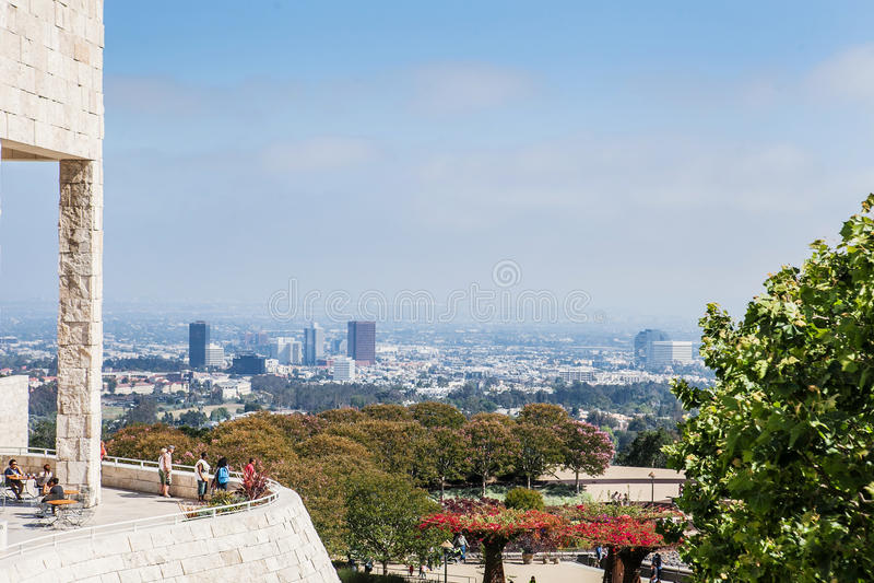 LOS ANGELES, de V.S. - 1 Juni, 2015: Mening van J royalty-vrije stock foto