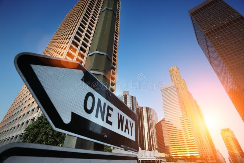 Los Angeles del centro immagine stock libera da diritti