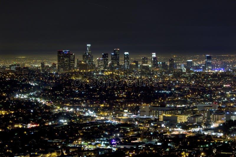 Los Angeles del centro fotografie stock