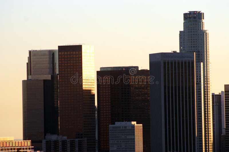Los Angeles del centro #36 immagini stock libere da diritti