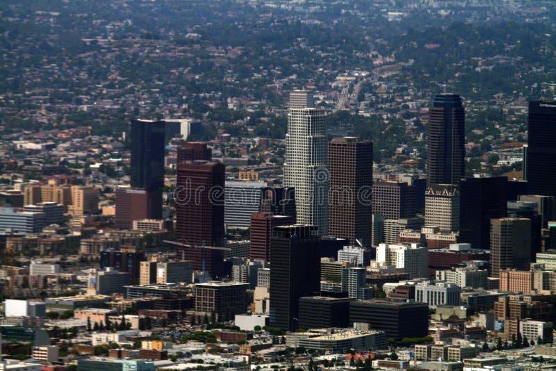 Los Angeles del centro fotografia stock libera da diritti