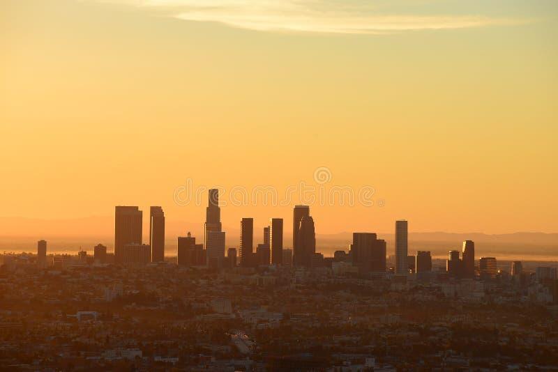 Los Angeles do centro foto de stock royalty free