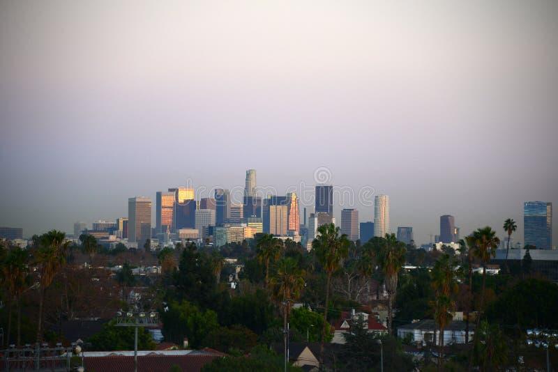 Los Angeles do centro fotos de stock royalty free